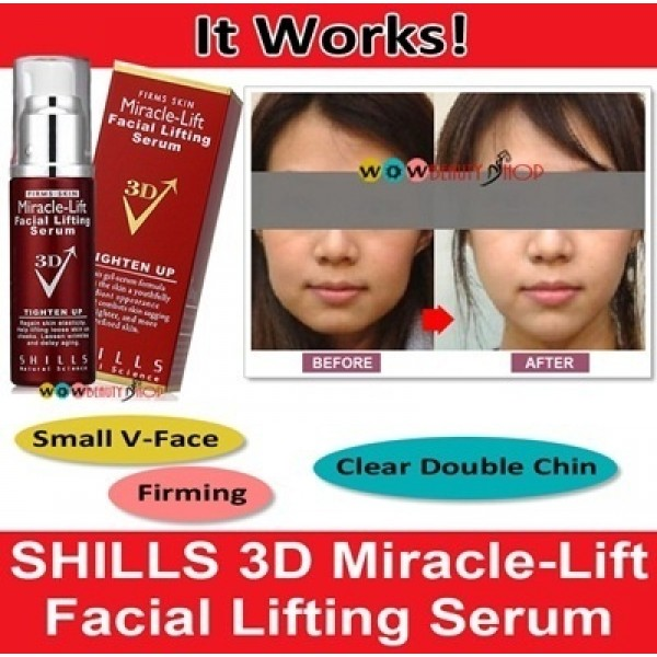SHILLS V-Face Miracle-Lift Facial Lifting 3D Serum 30ml