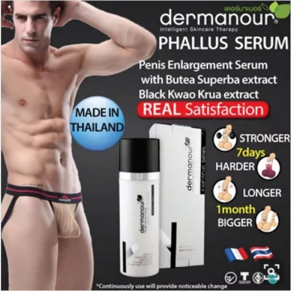 DERMANOUR Phallus Serum 30ml Male enhancement for bigger stronger and healthier manhood