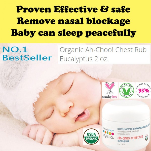NATURE'S BABY ORGANICS AhChoo! Chest Rub 56.7g