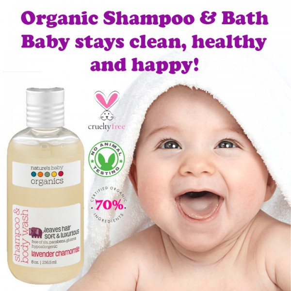 NATURE'S BABY ORGANICS Shampoo & Bath 236.5ml