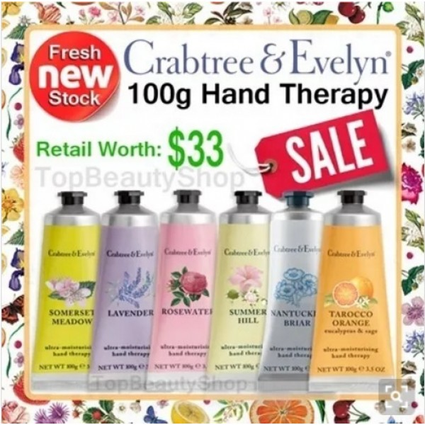 CRABTREE & EVELYN Hand Therapy cream 100g